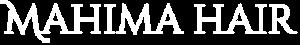 Mahima Hair Logo - White